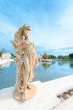 Statue in classical style in royal palace Royalty Free Stock Photo