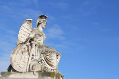 Statue of a classical war goddess Royalty Free Stock Photos