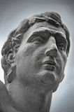 Statue Closeup. Statue of a leader; Situated in central park in Cluj-Napoca City, Romania Stock Images
