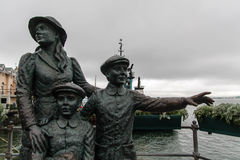 Statue in Cobh Royalty Free Stock Images