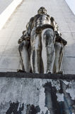 Statue in Coimbra University Royalty Free Stock Photo