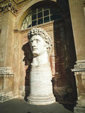 Statue of Colos. Courtyard  Vatican Museum. The statue once stood near the Colosseum Royalty Free Stock Photography