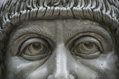 Statue of Colossus of Constantine the Great in Rome, Italy Royalty Free Stock Image