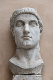 Statue of Colossus of Constantine the Great in Rome, Italy Royalty Free Stock Photo