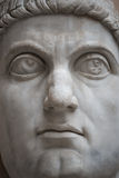 Statue of Colossus of Constantine the Great in Rome, Italy Stock Photo