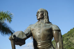 Statue of columbus Stock Photography