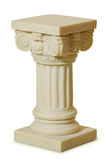Statue of columns in Greek style Royalty Free Stock Photography