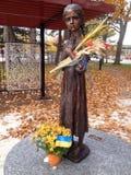 Statue commémorative de Holodomor à Toronto images stock