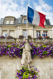 Statue commémorative France Photo stock