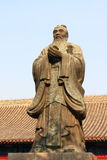 The statue of Confucius Royalty Free Stock Images