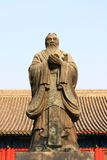 The statue of Confucius Stock Image