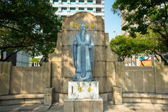 Statue of Confucius in taipei city Stock Photos