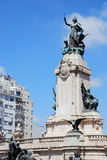 Statue in Congressional Plaza Stock Image