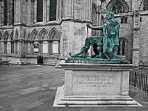 A statue of Constantine the Great Royalty Free Stock Images
