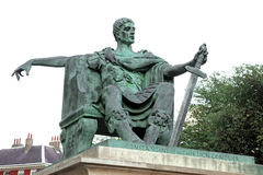 Statue of Constantine I in York Stock Image