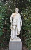 Statue of Cornelis de Vriendt (circa XIX c.), Brussels, Belgium Royalty Free Stock Photo