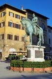 Statue of Cosimo I de Medici Stock Photos