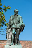 Statue of count Jan of Nassau VI Royalty Free Stock Photos