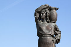 Statue - RAW format Royalty Free Stock Images