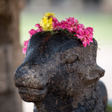 Statue of a cow Royalty Free Stock Photo
