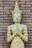 Statue crafts. In thai temple of Thailand Stock Images