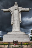 Statue of cristo de la concordia Royalty Free Stock Photos