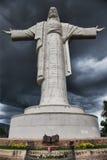 Statue of cristo de la concordia Royalty Free Stock Photos