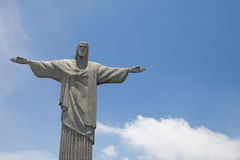 Statue of Cristo in Rio Royalty Free Stock Photos