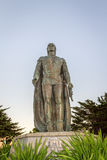 A statue of Cristopher Columbus in Telegraph Hill, San Francisco, Usa Royalty Free Stock Photo