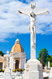 Statue of the crucificion of Jesus Stock Image