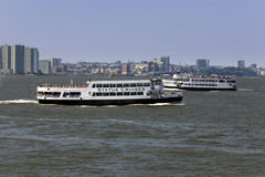 Statue Cruise Ferries Stock Photos