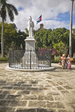 A statue of Cuban revolutionary Jose Marti in Old Havana, Cuba Stock Photos