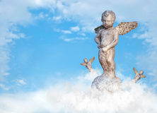 Statue of cupid. Stock Photography