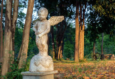 Statue of cupid. Stock Photos