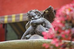 Statue of Cupid Royalty Free Stock Photos