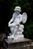 The statue of Cupid in the SOFIYIVSKY PARK IN UMAN. Ukraine. Royalty Free Stock Photos