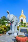Statue d'éléphant Photo libre de droits
