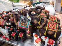 Statue d'éléphant Image libre de droits