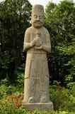 Statue d'évêque - tombes de dynastie de chanson, Chine Photographie stock libre de droits