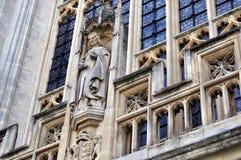 Statue d'abbaye de Bath Photos libres de droits