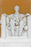 Statue d'Abraham Lincoln à Photos stock