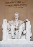 Statue d'Abraham Lincoln Photo libre de droits