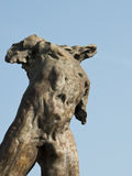 Statue d'Adonis Photo stock