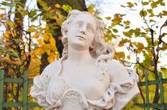Statue d'Amazone Le caractère mythologique image stock