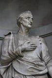 Statue d'Amerigo Vespucci à Florence Photo libre de droits