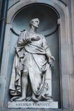 Statue d'Amerigo Vespucci Images stock