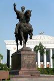 Statue d'Amir Temur à Tashkent - Ouzbékistan Image libre de droits