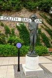 Statue d'amiral Haracio Nelson au Gibraltar Photographie stock libre de droits