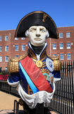 Statue d'amiral Lord Nelson Photographie stock