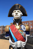 Statue d'amiral Lord Nelson Images stock